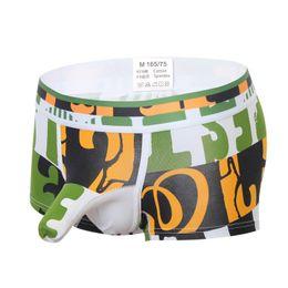 e655b29bc80 High Quality Soft Comfortable Cartoon Print Boxer Gay Men's Underwear  Cuecas Boxer Men's Cueca Men's Underwear