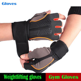 weighted gloves for men NZ - Best Sale Unisex Weight Lifting Gym Gloves Tactical Sports Training Fitness bodybuilding Workout Wrist Wrap Exercise Glove for Men Women