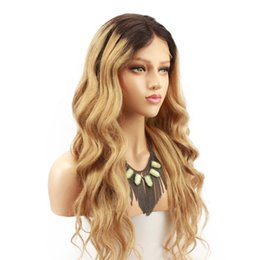 China Blonde Ombre 180 Density 360 Lace Frontal Wigs Dark Roots 1B 27 2 Tone Brazilian Remy Human Hair Wig For Black Women Eseewigs supplier 27 blonde human hair wigs suppliers