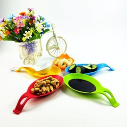 kitchen heat resistant mats Australia - Silicone Spoon Pad Heat Resistant Spoon Fork Put Mat Device Rest Utensil Dish Spatula Holder Pad Kitchen Stand Tool Placemat 5Z