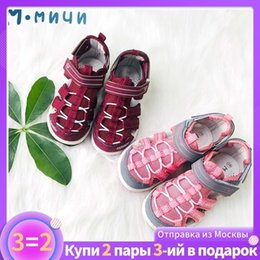 $enCountryForm.capitalKeyWord Australia - Mmnun 3=2 Sandals For Girls Kids Sandals Orthopedic Kids Shoes Girls Sandals Beach Shoes Closed Toe Girls Shoes Size 26-31 Ml122 MX190727