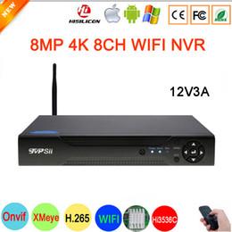$enCountryForm.capitalKeyWord Australia - Hi3536C XMeye Surveillance Video Recorder 8MP 4K 8CH 8 Channel one SATA Audio WIFI Onvif IP Camera CCTV NVR