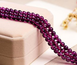 Make Icing Flowers Australia - Wholesale 35 Pcs lot Amethyst Natural Rose Red Stone Ice Flower Beads for Fashion Jewelry Necklace Bracelet Making Loose Gemstones 10 mm
