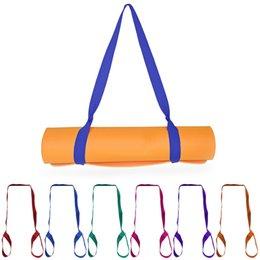 $enCountryForm.capitalKeyWord Australia - Yoga Mat Strap New Yoga Mat Sling Carrier Shoulder Carry Strap Belt Exercise Stretch Adjustable