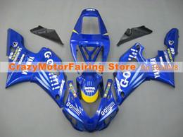$enCountryForm.capitalKeyWord Australia - New ABS Mold motorcycle plastic Fairings Kits Fit For YAMAHA YZF-R1-1000 1998-1999 98 99 High quality Fairing bodywork Custom blue yellow