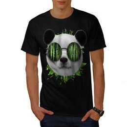 $enCountryForm.capitalKeyWord NZ - Wellcoda Bamboo Panda Bear Mens T-shirt, Cool Graphic Design Printed Tee