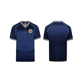 $enCountryForm.capitalKeyWord Australia - retro 1982 Scotland soccer jersey home blue world cup 82 83 Dalglish Strachan Miller Souness Hansen George Wood football shirts thailand xxl