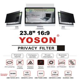 "More Anti Australia - 23.8"" Privacy Filter Screen Protector Anti Peep Films for Widescreen Desktop Monitors 16:9 Ratio"