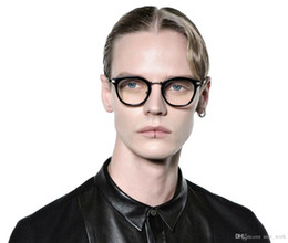 $enCountryForm.capitalKeyWord NZ - Brand Glasses-Korea eyeglasses rigo Round Frame Glasses Frame V logo Retro Women and Men Reading Glass Protection Eyeglasses oculos de grau