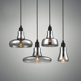 $enCountryForm.capitalKeyWord Australia - Nordic Modern Loft Led Chandelier Lighting Smoke Gray Glass Restaurant Pendant Lamps Aisle Kitchen Hanglamp Ceiling Luminaire