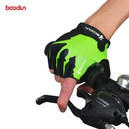 $enCountryForm.capitalKeyWord Australia - BOODUN Summer Shockproof Cycling Gloves Half Finger Outdoor MTB Road Bike Bicycle Gloves Sports Mitten for Children Men Women