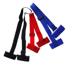 skiing poles Canada - 1pc Adjustable Skiing Pole Shoulder Carrier Handle Sports Safety Athletic & Outdoor Accs Strap Bag Ski Snowboard Handbag Hand Strap 3 Colors