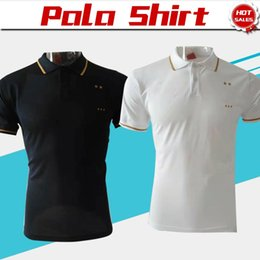 Discount polo sport blue - Two stars polo GRIEZMANN White Soccer Jersey 19 20 Royal Blue MBAPPE Soccer POLO Football Uniforms Sport Shirt On Sale