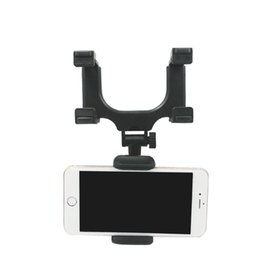 Car Mp3 Device UK - Car Mount Holder Car Rearview Mirror Mount Truck Auto Bracket Holder Cradle for iPhone X 8 8 plus Samsung GPS   PDA   MP3   MP4 devices