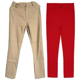 $enCountryForm.capitalKeyWord NZ - Casual Women Solid Color Stretchy Pants Skinny Leggings Pencil Trousers