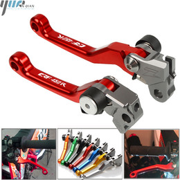 Wholesale pivot bikes for sale – custom CRF450R Motorbike CNC Aluminum Pivot Brake Clutch Lever For CRF450R CRF R CRF450 R Moto Dirt Bike Motocross