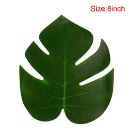 $enCountryForm.capitalKeyWord Australia - 36pcs pack Kinds Artificial Plant Decorations DIY Home Jungle Fake Leaves Beach Birthday Table Decorations Ornament Tropical