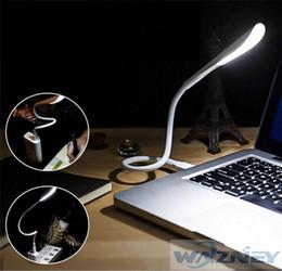 Lighting Keyboard For Computer Australia - Flexible USB LED Night Light Mini Lamp For Computer Keyboard Notebook Laptop PC 50pcs lot