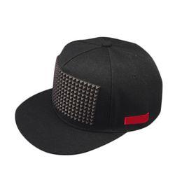 a4c6882a361f5 Fashion Summer Unisex Baseball Sunscreen Cap Hip Hop Hats Rivet Decorate Adjustable  Men Women Hat Casual Flat Brim Caps NYZ Sho