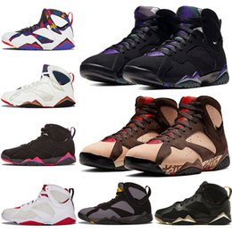 Wholesale 2019 New Arrival Jumpman Patta X Ray Allen Olympic s Men Basketball Shoes History of Flight Hare mens Raptor sports Sneakers
