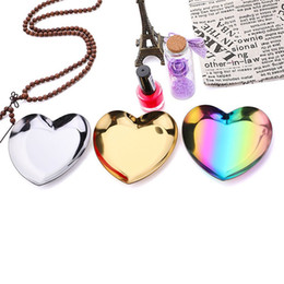 $enCountryForm.capitalKeyWord Australia - Tray Holder Heart Shaped Creative New Style Bracelet Admission Disc Stainless Stee Colour Metal Storage Fruit Plate Ornament 5 2jd p1