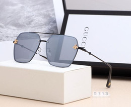 stylish girls glasses Australia - Luxury Sunglasses Stylish Brand Sunglasses Fashion Style Sunglasses for Mens Womens Glass UV400 5 Style with Box New Style