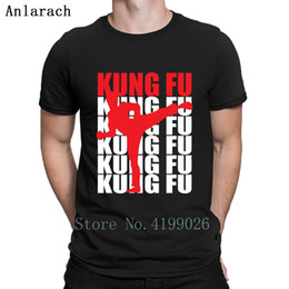 kung fu clothes NZ - Kung Fu T Shirt Homme Sunlight Knitted Free Shipping Fitness Clothing Trendy New Fashion Cool Cotton Awesome