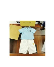 korean kids shorts NZ - Girl Suit Summer Korean Children Short Sleeve Kids Clothing Style with classic 030913