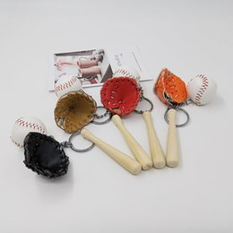 $enCountryForm.capitalKeyWord Australia - Free Shiping Baseball keychain,Glove Wooden Baseball,Handbag Pendant,Mobile Phone Accessory.Promotion Gift.