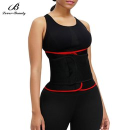 body slimming waist trimmer belt Canada - Lover Beauty Waist Trainer Body Shaper Slimming Girdles Waist Cincher Trimmer Women Body Shapers Postpartum Modeling Belt