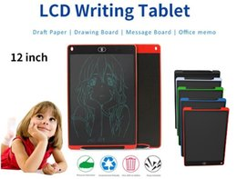 $enCountryForm.capitalKeyWord Australia - NEW 12 inch LCD Writing Tablet Touch Pad Office Electronic Board Magnetic Fridge Message Stylus Kids Birthday Christmas Day Gifts