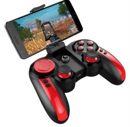 game console tablets 2019 - IPEGA PG-9089 PG 9089 Bluetooth Wireless Gamepad With Holder Game Controller Joystick For Andorid Phone TV Box Tablet PC