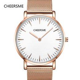 $enCountryForm.capitalKeyWord Australia - Top brand wrist watches mens minimalism ultrathin milanese loop band Large Dial orologio uomo erkek kol saati Reloj Hombre