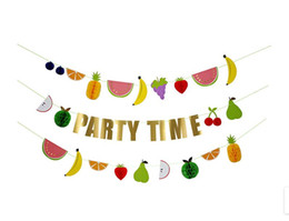 $enCountryForm.capitalKeyWord NZ - Home soft decoration children room decoration birthday party colorful letters fruit wall decoration