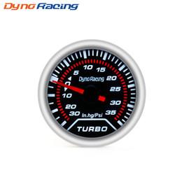 """$enCountryForm.capitalKeyWord Australia - Dynoracing Boost gauge 2"""" 52mm Smoke lens Turbo gauge boost meter -30 In.hg~35 Psi Car Gauge Car Meter"""