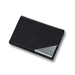 2019 Porta biglietti da visita Uomo Donna Porta carte di credito impermeabile Porta carte di credito Porta carte in metallo Porta carte di credito Carteira in Offerta