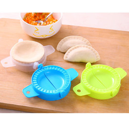ravioli maker mold NZ - Dumpling Maker Molds Food-Grade Plastic Pack 7.5cm Dough Press Dumpling Pie Ravioli Mould Pastry Dumpling Mold Kitchen Accessory