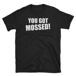 Wholesale You Got Mossed T Shirt Randy Moss Cool Sunday Countdown Minnesota Football Vikin