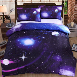 99131d5d08 Starry Sky Galaxy Comforter Bedding Sets King Twin Queen Size Family Bed  Cover Linen Luxury Duvet Cover Set Bed Sheet Bedspread