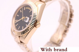 Men Watches Week Day Australia - men 40mm automatic mechanical watch No battery sweeping movement Stainless steel clock Date week watches free shipping