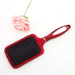 $enCountryForm.capitalKeyWord NZ - Red Multi-Gear Hair Combs Large Comb with Airbags Combs For Wet Hair Shower Brush Massage Health Care Airbag Comb Hair Comb