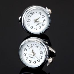 $enCountryForm.capitalKeyWord Australia - new fashion function electronic watch cufflinks senior designer, exclusive design of men's wedding shirt buttons