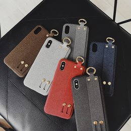 $enCountryForm.capitalKeyWord Australia - Hot sales Luxury phone cases For iPhone x Fashion Models Phone Back cover Textile Designer phone case for iPhone 8 P xr drop shipping