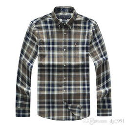 Double collar shirt men online shopping - New Fashion polo t shirt Oxford Men Shirts Long Sleeve Mens Dress Shirts High Quality Mens Business Shirts polo Chemise Homme S XL
