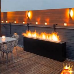 Vente en gros Prix usine cuisinière à gaz extérieur H forme insert de cheminée à gaz moderne