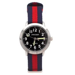 $enCountryForm.capitalKeyWord Australia - High Quality Men Watches Children Boy Girls Gifts Luminous Hands Sports Watches Student Nylon Digital Wrist watch
