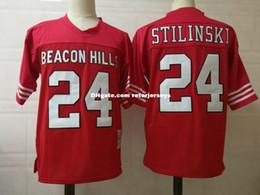 $enCountryForm.capitalKeyWord Australia - Mens Teen Wolf Film Football Jerseys stitched Red #11 Scott McCall #24 Stiles Stilinski Teen Wolf Beacon Hills Jersey Size S-3XL