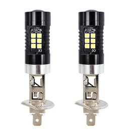 Fog lamps bulb h1 online shopping - WUPP Car Lights H1 SMD LED Fog Light K White Lamp Bulbs W dropship A10