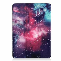 China Wallet Leather UK - Smart Sleep Wake Up Magnetic Cartoon Wallet Leather Case For Ipad Air 3 Air3 10.5 2019 Tablet Owl Star Sky Stand Holder Skin Cover 30pcs