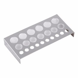 $enCountryForm.capitalKeyWord UK - 100Pcs Set Clear Tattoo Ink Caps Cup Ink Pot Plastic Microblading Paint Pigment Cups Holder for Needle Grip Tattoo Accessories